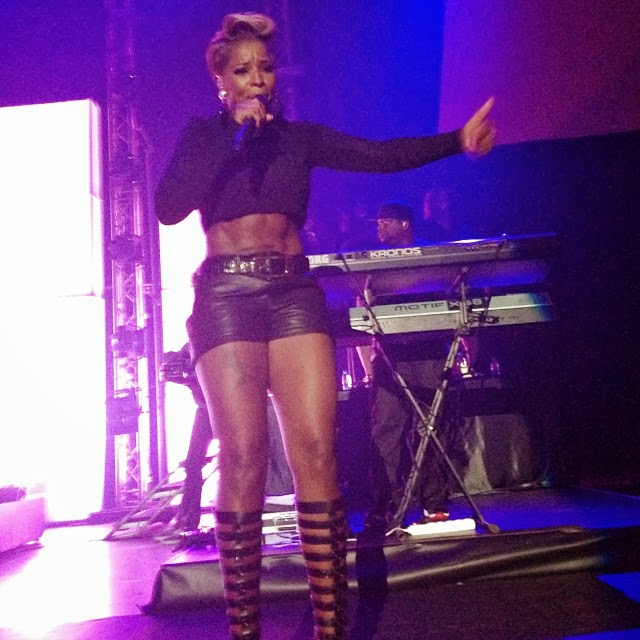 PHOTOS: MARY J BLIGE  ROCKS SISTERS WITH SOUL CONCERT IN NIGERIA